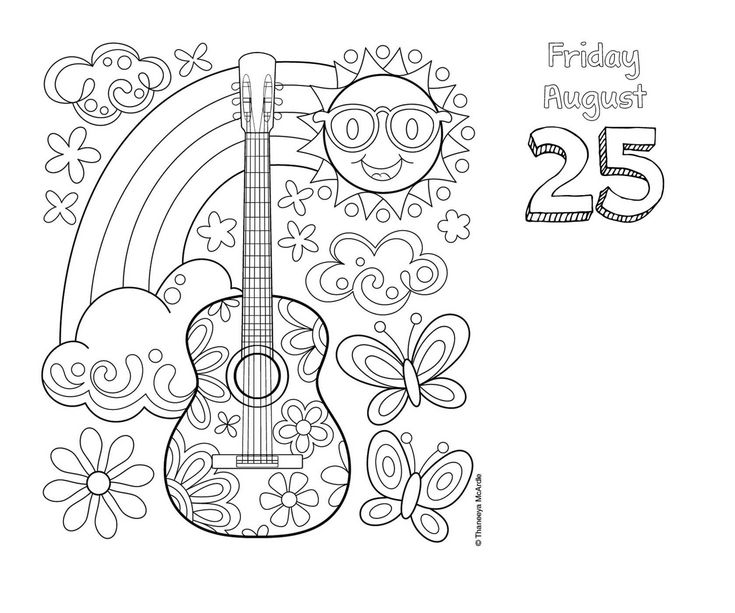 Posh Coloring 2017 Day To Calendar Thaneeya McArdle 9781449477141