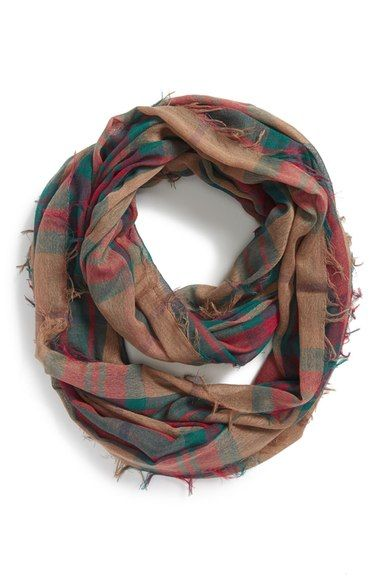 BP. Plaid Infinity Scarf available at #Nordstrom