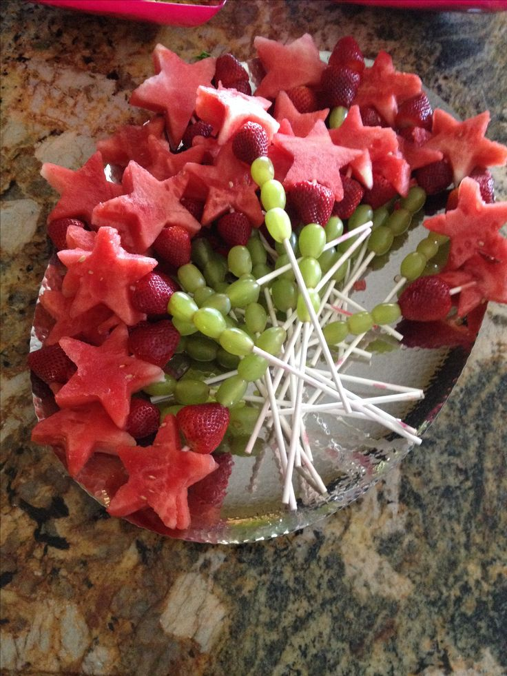 Fairy Fruit wands at Tinkerbell party | Birthdays | Pinterest