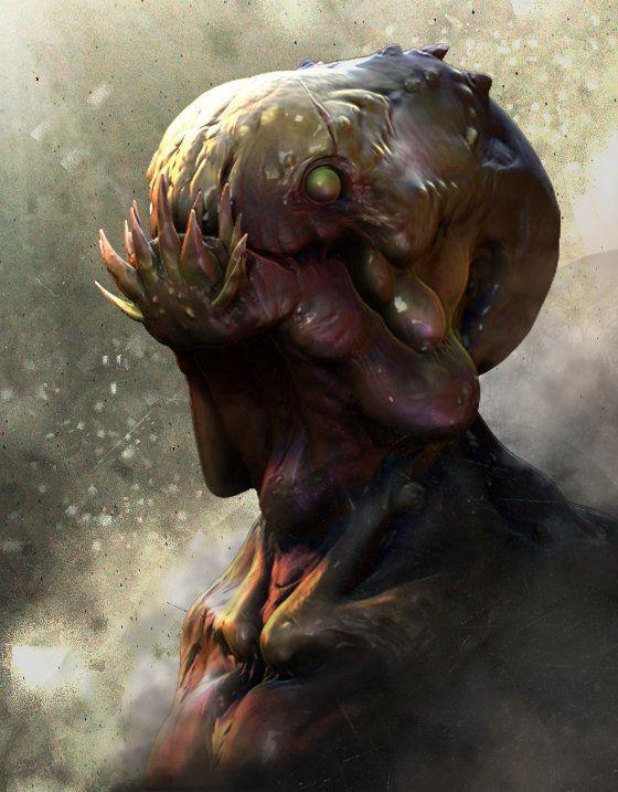 ArtStation - swamp creature?, Joshua Wu