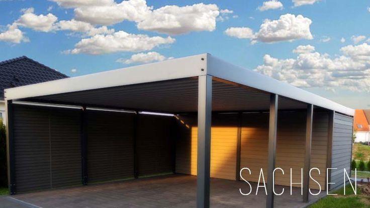 die besten 25 doppelcarport metall ideen auf pinterest doppelcarport garagen aus holz und. Black Bedroom Furniture Sets. Home Design Ideas