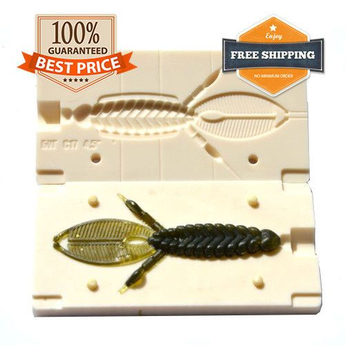 Details about Do It Beaver Style Bug Fishing Mold Lure Bait