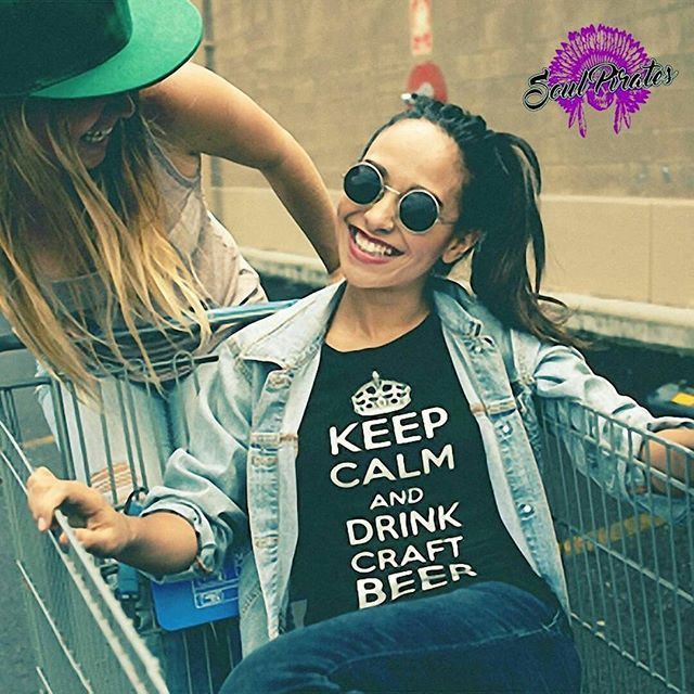 Keep calm and drink craft beer T-Shirt https://www.soulpirates.shop/collections/beer-lovers/products/keep-calm-and-drink-craft-beer-t-shirt  #ilovebeer #beer #craftbeer #craftbeerhour #homebrew #beergeek #beernerd #beerlove #beerlover #beerme #beertime