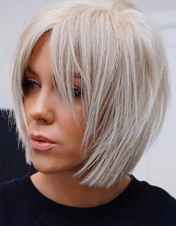 Hair Color Highlights for Short hair
