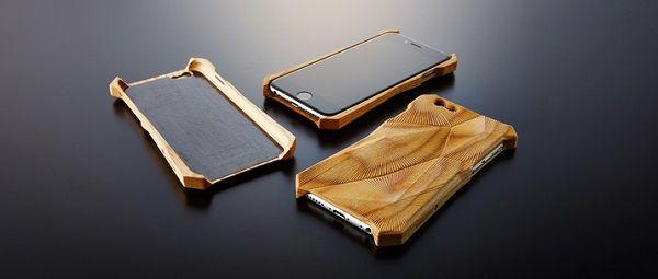 Beautiful Natural Wood iPhone Case That Enhances Your Phone's Acoustics - DesignTAXI.com