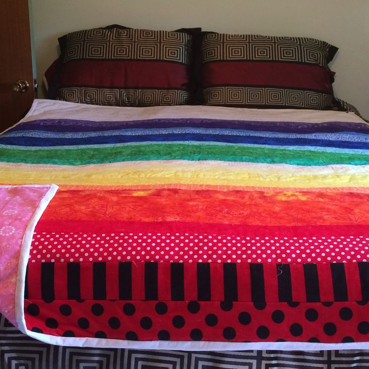 This is Aurora she is double sized Crystal chakra blanket. If she interested you or you have any questions I can be reached at http://ladybughealing.weebly.com/ or Facebook ladybug healing.