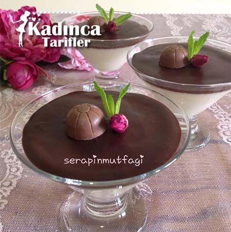 Kupta Çikolatalı Muhallebi Tarifi