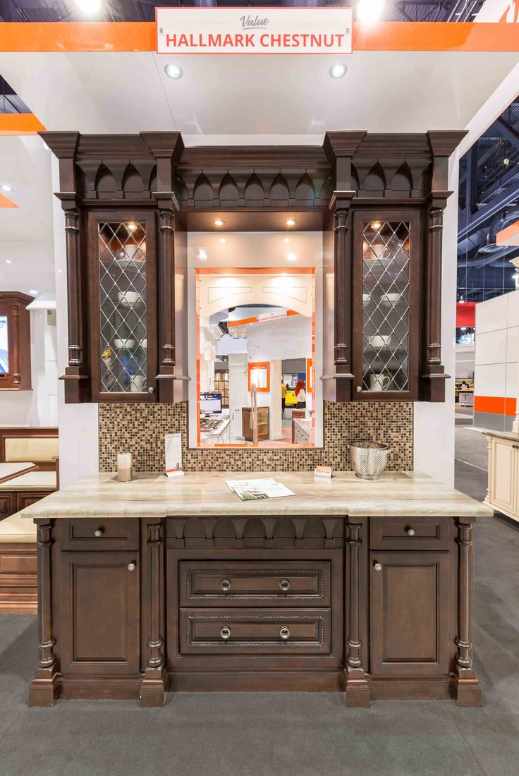 Fabuwood Cabinetry Kbis 2016 Booth Featuring Formica