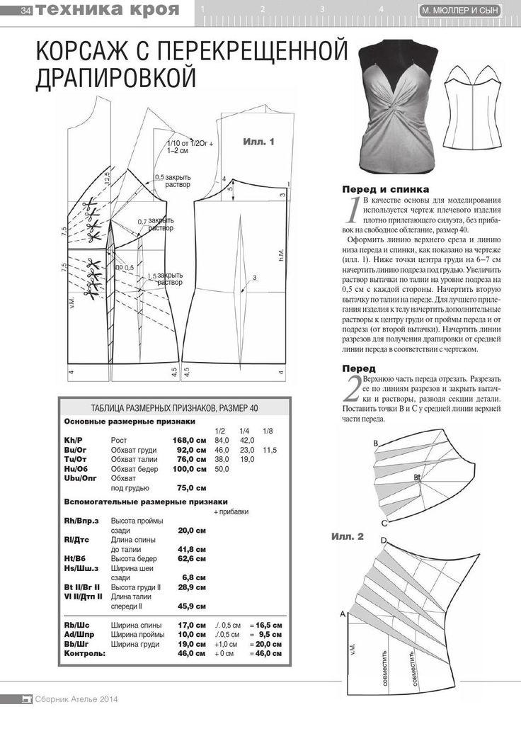 #ClippedOnIssuu from Сборник «Ателье-2014». Техника кроя «М.Мюллер и сын». Конструирование и моделирование одежды.