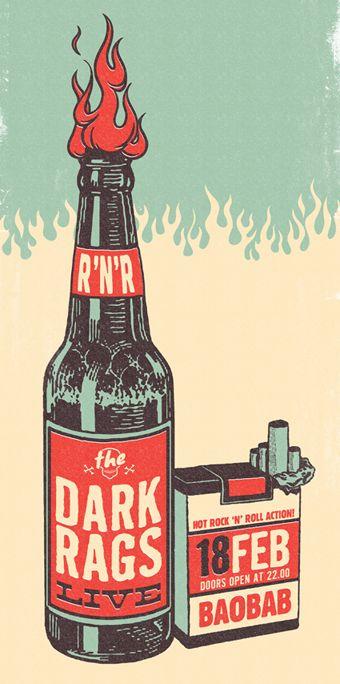 The Dark Rags - Studio Ampersand