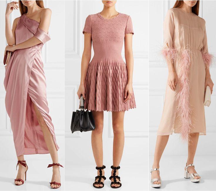 ShoeTease Answers: Pastel Pink Dress, What Color Shoes?