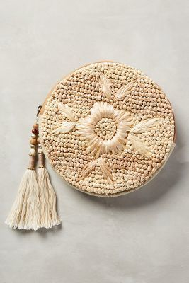 Anthropologie Strawflower Pouch #AnthroFave