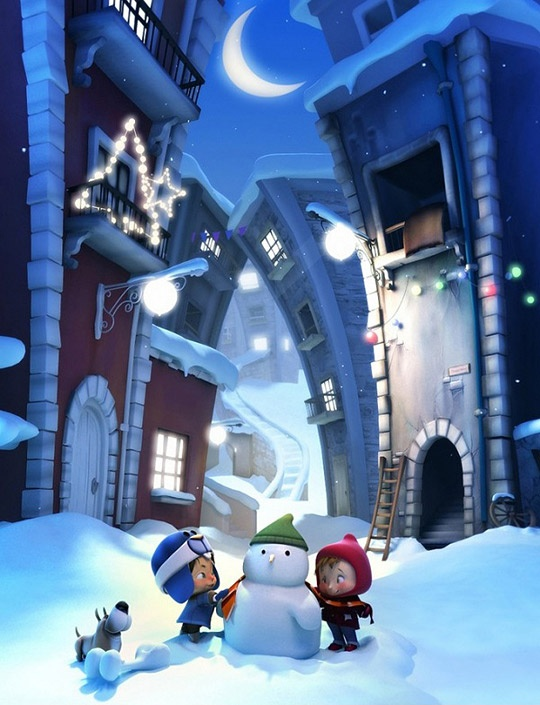 #characters #3d #christmas #children