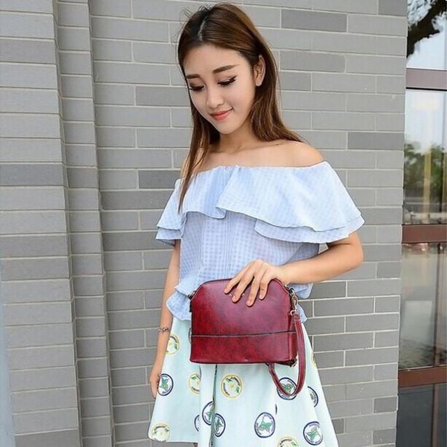 2016 Woman Bag Casual Fashion Women Shoulder Bags Tote Purse Woman's Handbag Ladies Shoulder Bag para mujer mochila feminina