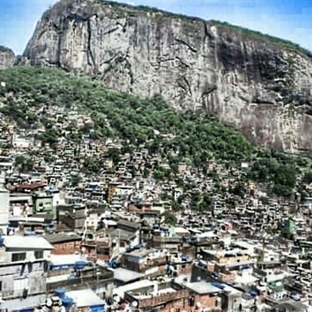 #rocinha #favela #Rio. Rocinha  means little farm. The biggest favela in #Brazil  #thelalalife #travel #explore