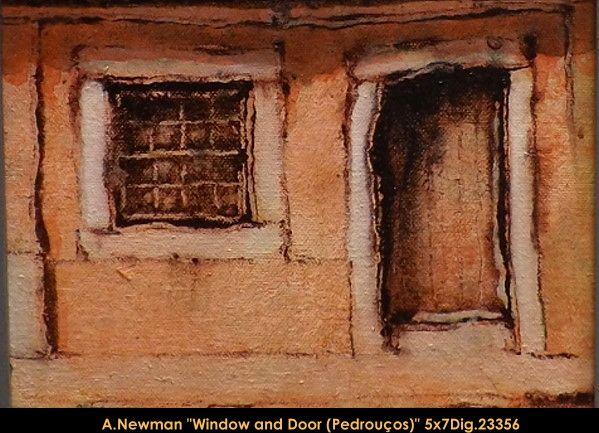 Original acrylic painting on canevas by artist Andy Newman. #newman #art #canadianartist #quebecartist #originalpainting #fineart #figurativeart #acrylicpainting #artist #house #window #door #multiartltee #balcondart