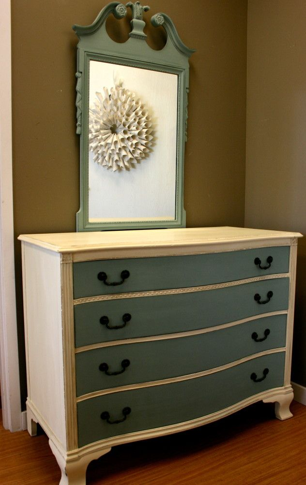 refinishing bedroom furniture ideas. love the idea of mirror being a different color dresser remodeldresser makeoversrefinished furniturefurniture refinishingbedroom refinishing bedroom furniture ideas e