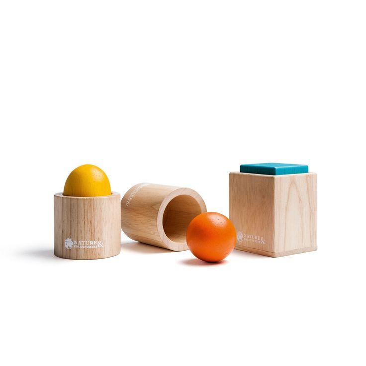 Ensemble de 3 matériels d'emboîtement - Du matériel Montessori pour accompagner le développement de votre enfant - 17,95 €