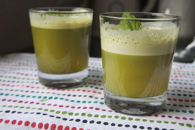 pineapple apple mint juice