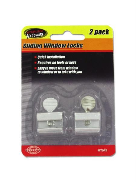 Sliding Window Locks (Available in a pack of 24)