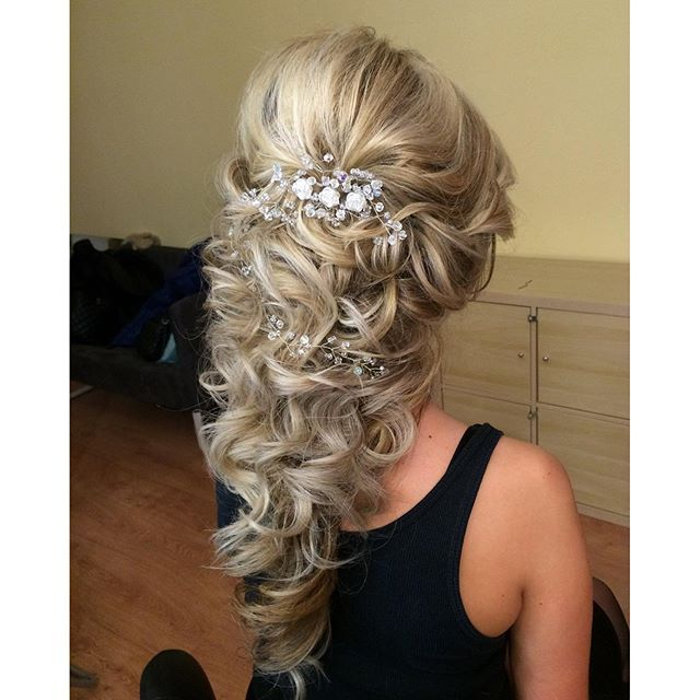 Beautiful Prom Hairstyles by Anna Sartakova, Russia!