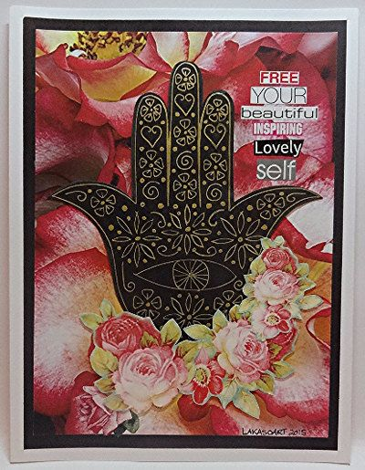 Lovely Self Hamsa Drawing Collage