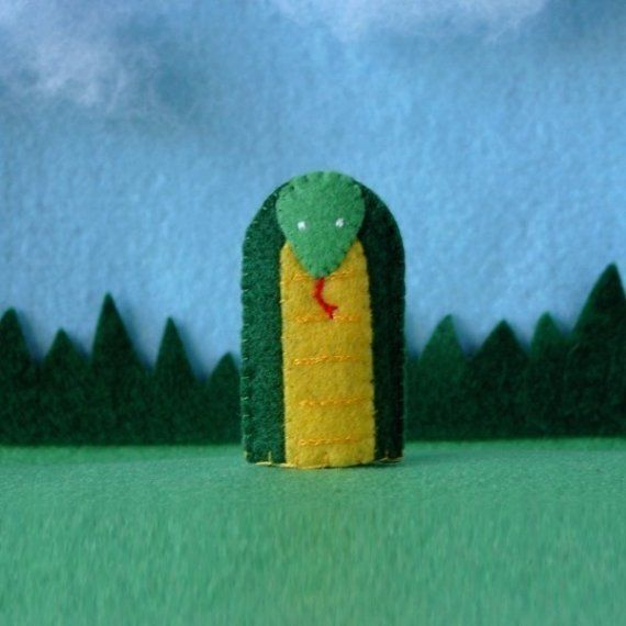 Snake Finger Puppets For Children And Loads Of Fun - Snake Puppet ...