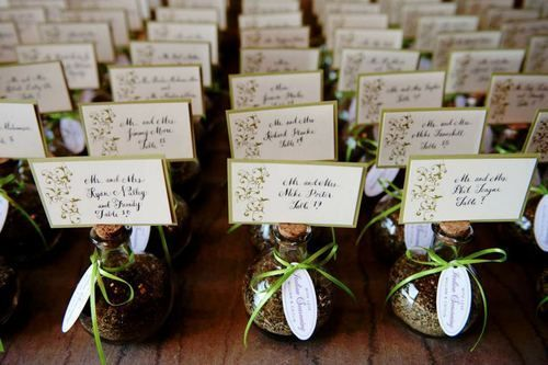 Italian Themed Wedding Ideas Place Cards And Favors Tuscan Theme With Al Pinterest