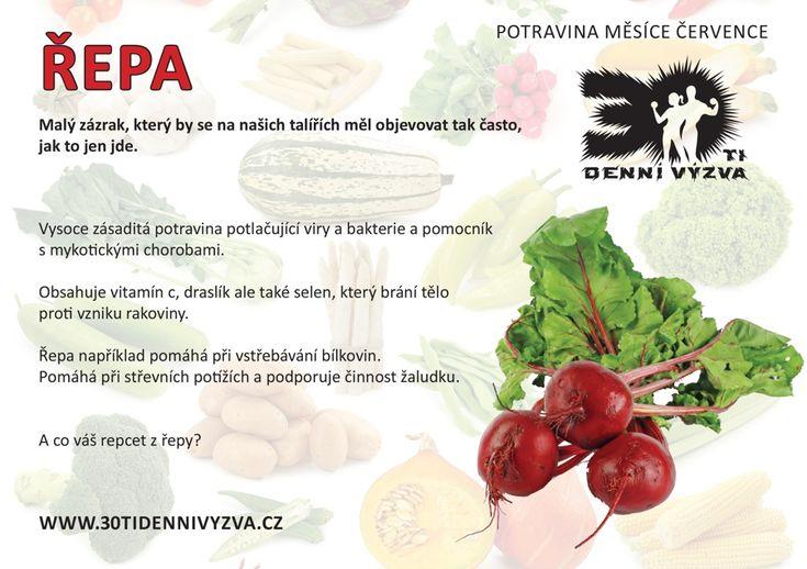 ČERVENEC - Řepa - 30ti denní výzva