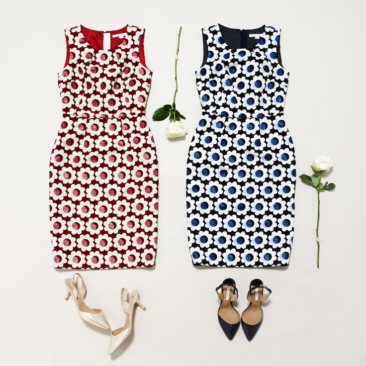 All hail the Harriet Dress. Shop with 15% off and free delivery with code PIN1 (UK) or PIN2 (US) #Boden #AW14