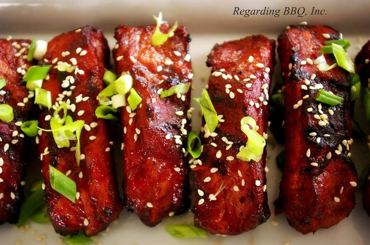 Chinese Style Ribs #ribs #grilled #bbq