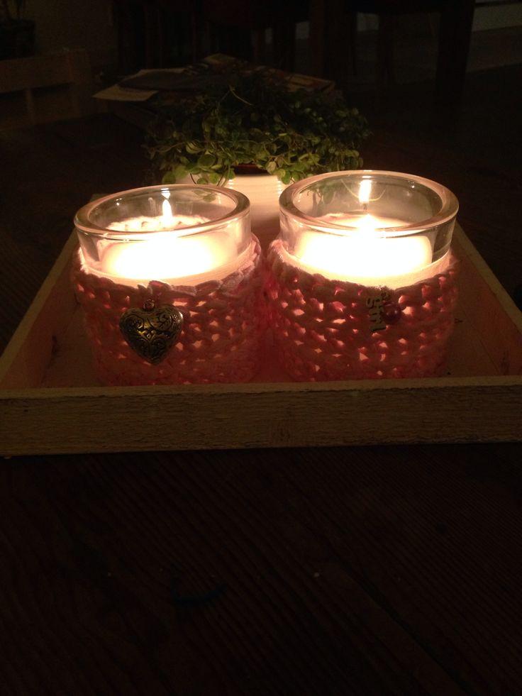 Crochet candle's