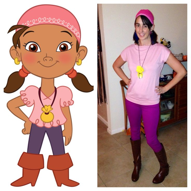Izzy Jake And The Neverland Pirates Costume Diy