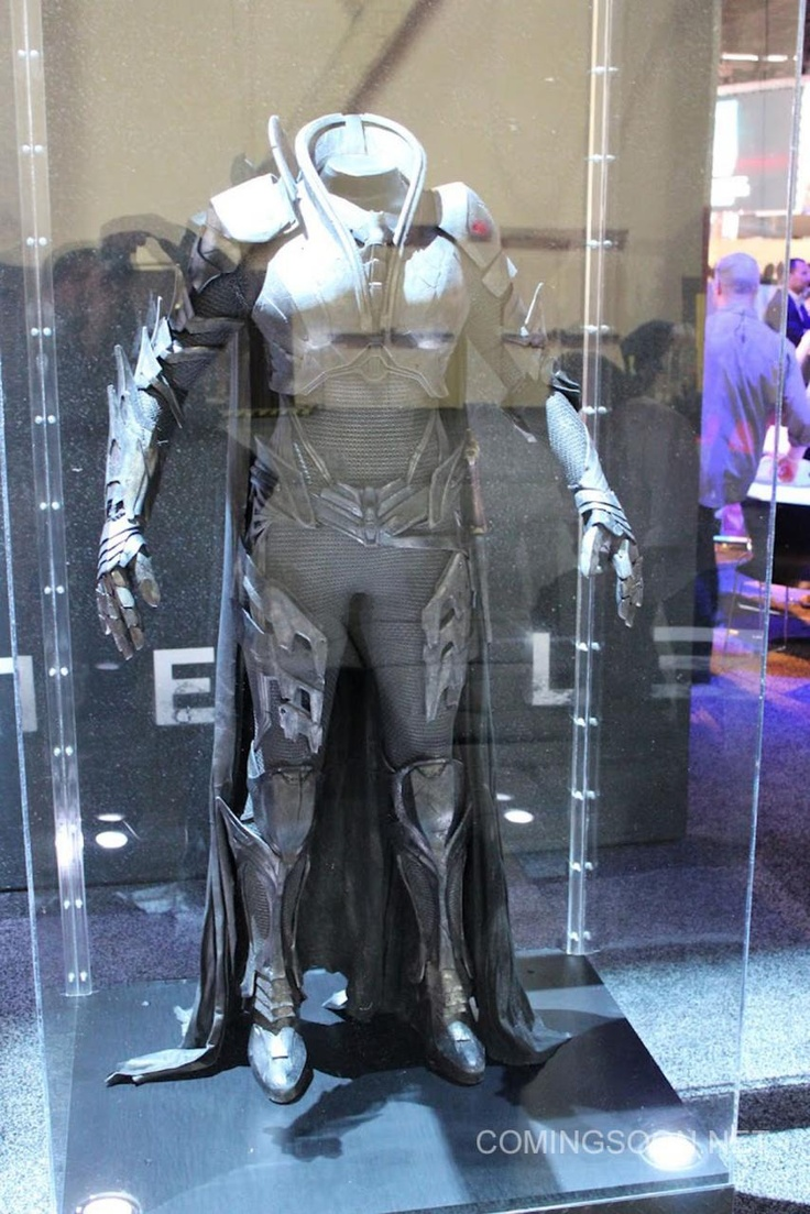 Kryptonian suit worn by General Zod's henchwoman Faora from Man of Steel