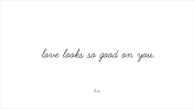 These Words: love-ly.