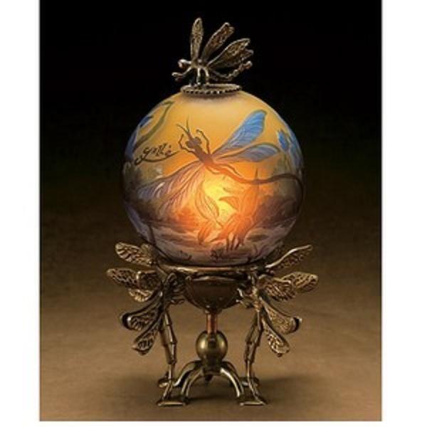 Gallé Globe Lamp - Art Nouveau | JV                                                                                                                                                                                 More