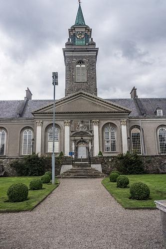 Royal Hospital Kilmainham - Dublin (Ireland): The Royal Hospital Kilmainham in Kilmainham, Dublin, is one of the finest 17th-century buildings in Ireland.