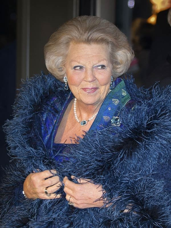 Queen Beatrix of the Netherlands, 11th April 2013.  A great photo of Her…