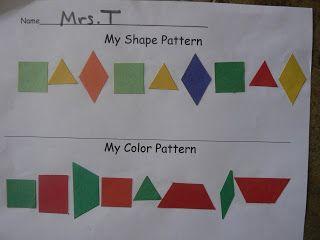 Mrs. T's First Grade Class: Patterns