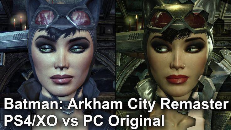 Digital Foundry - Arkham City PC Original vs Remaster