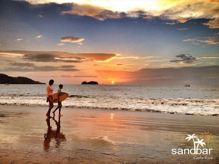 Skim boarding is the favorite pastime here in Hermosa. Sandbar is located in beautiful Playa Hermosa, Guanacaste, Costa Rica.  #CostaRica #PuraVida #Beaches #Playa #Vacation #Travel #Tropics #Tropical #Paradise #Guanacaste