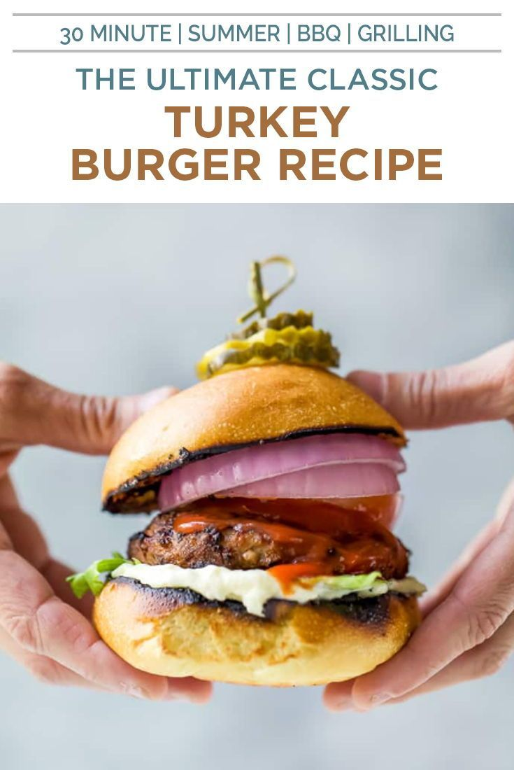 The Ultimate Grilled Turkey Burger Recipe Best Turkey Burgers Recipe Turkey Burger Recipes Grilled Turkey Burgers Recipes Grilled Turkey Burgers