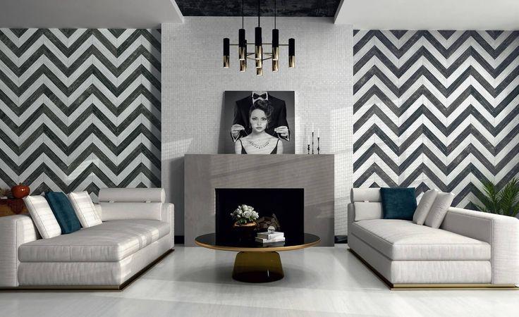 Шеврон, Тартан и Морески - геометрические декоры.  Журнал ARTCER рассказывает, чем отличаются эти декоры, в каких стилях интерьеров используются, и в каких коллекциях керамической плитки их искать.  На фото интерьер фабрики #Аpavisa. #artcermagazine #design #плитка #интерьер #дизайн #стиль #interior #керамика #Шеврон #Морески #Тартан #Vives, #Venus, #AtlasConcorde, #Dwell, #Apavisa, #Cifre, #Equipe, #DualGres, #PetraAntiqua, #Mapisa, #Mijares, #Bayker, #Realonda, #Vallelunga