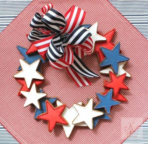 Tutorial - Star Cookie Wreath