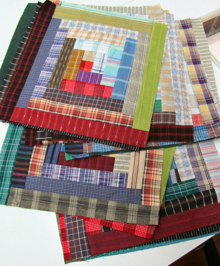 129 best quilts from men's shirts images on Pinterest | Quilt ... : mens quilt - Adamdwight.com