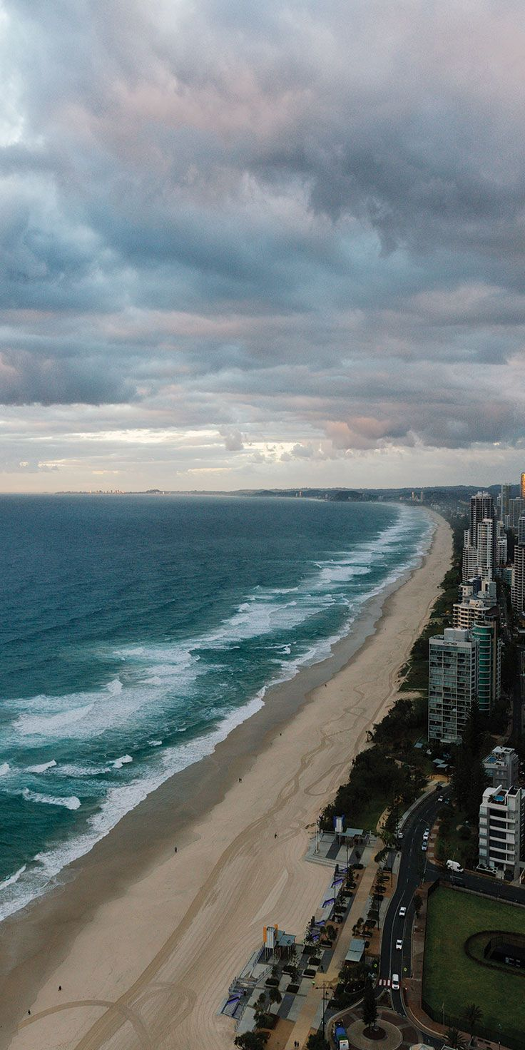 View from the top at the Gold Coast - by Melissa Findley