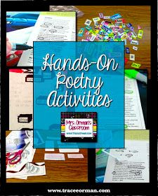 Hands-On Poetry Activities www.traceeorman.com