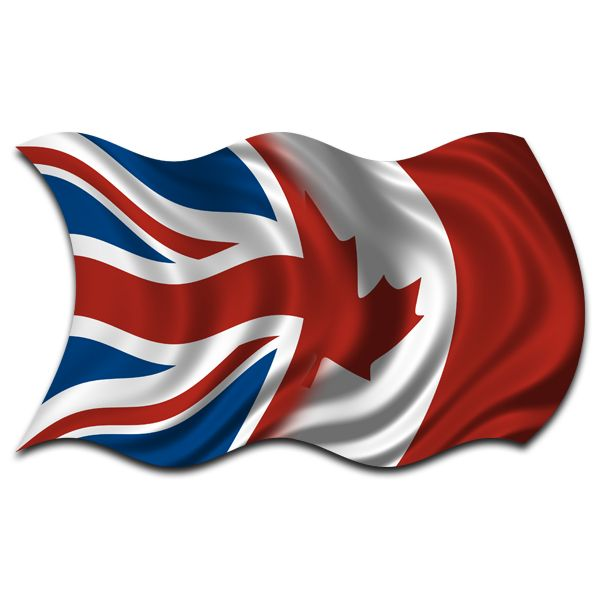 Image Detail for - British Canadian Flag Britain UK Canada Decal Sticker - eBay (item ...