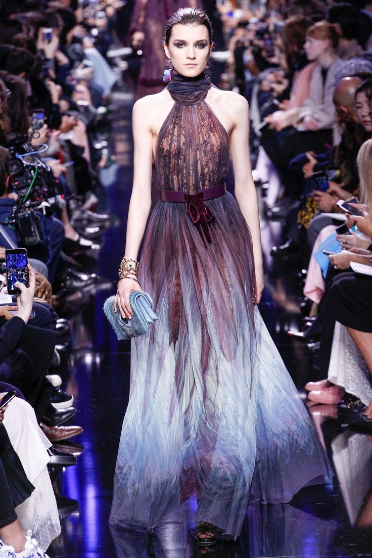Elie Saab Fall 2017 Ready-to-Wear Fashion Show - Irina Djuranovic