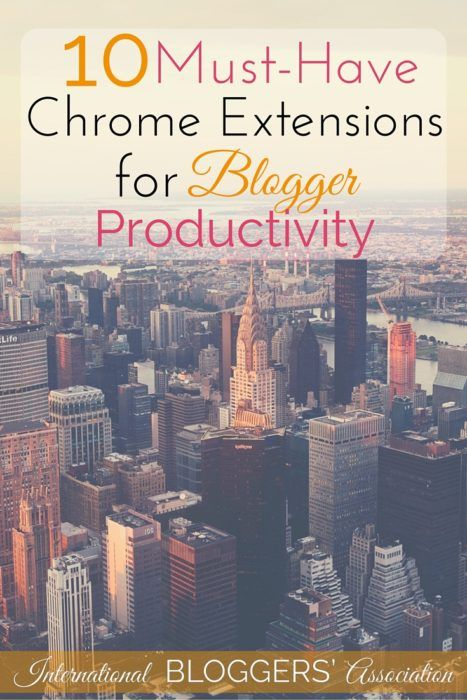 Blogging isn't easy! These 10 Must-Have Chrome Extensions for Blogger Productivity can help you stay focused and productive while getting it all done!